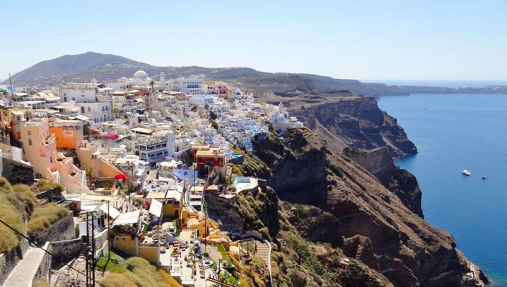 Ελλάδα /Elláda (Hellas)/, Σαντορίνηb (Santoríni)