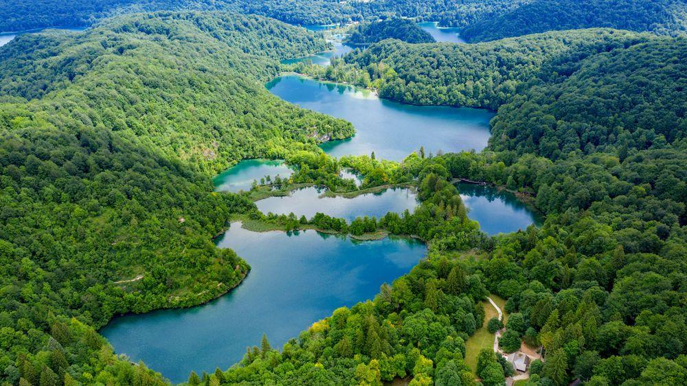Hrvatska, Plitvička Jezera