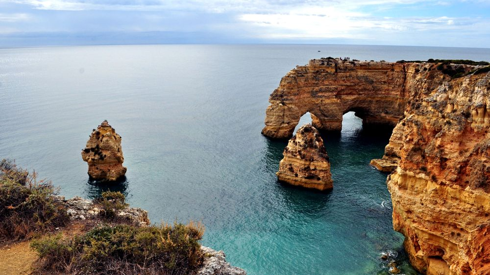 Portugal, Praia da Marinha