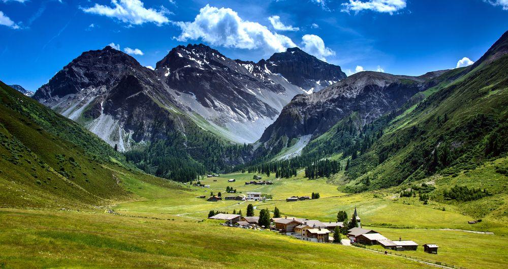 Schweiz, Sertig Dörfli